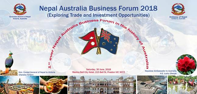 Nepal Australai Business Forum Banner